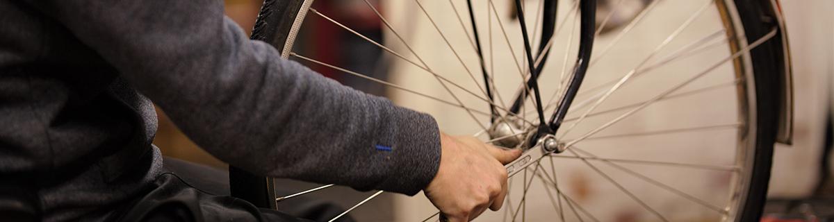Cykelreparationer - Umeå
